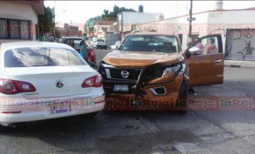 Accidente en El Paseo, solo daños