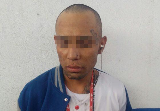 Capturan a ladrón serial en la B. Anaya, portaba cuchillo y bolsitas de marihuana