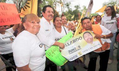 Vamos a ganar este primero de julio: Ricardo Gallardo Juárez