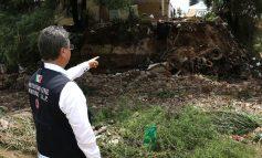 Autoridades recorren cauce del Río Santiago, en Palma de la Cruz