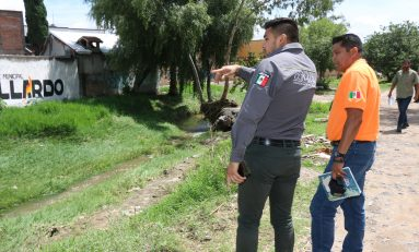 Dependencias municipales, CONAGUA e INTERAPAS evalúan daños por tormenta