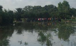 Desalojan parcelas aledañas a Río Santiago como medida preventiva