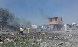 19 muertos en Tultepec tras explosiones de pirotecnia