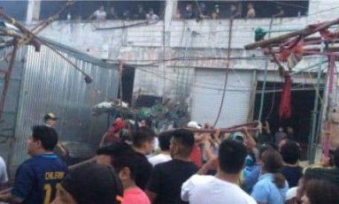 Incendio reduce a cenizas el Mercado de Tamazunchale
