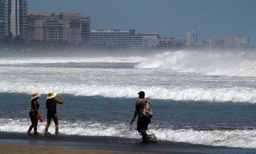 Mar de fondo provocará oleaje alto en todo el Pacífico
