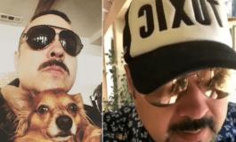 """Pepe Aguilar extravía a su perro """"Chucho"""" en compañía aérea y se lo entregan muerto"""