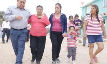 Alcalde de Soledad supervisa obra en Potrero de Adentro