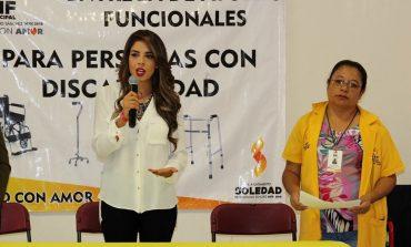 Entrega DIF Soledense apoyos a sectores vulnerables