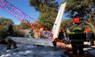 Un muerto y un lesionado en desplome de avioneta en Villa de Zaragoza