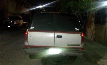 Recuperan camioneta robada en la Progreso