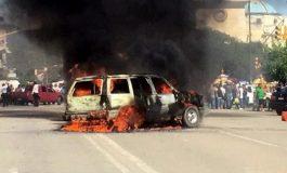 """Hombres quemados en Puebla no eran """"robachicos"""": Fiscalía"""