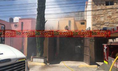 Incendio en una vivienda de Pavón