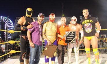 Lleno total en homenaje a Mil Máscaras en la FENAPO