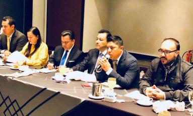 Dirigencia nacional del PRD presenta a sus coordinadores parlamentarios de San Lázaro