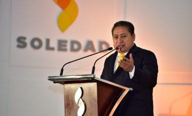 En Soledad se gobierna con nobleza y por las causas más justas: Gilberto Hernández Villafuerte