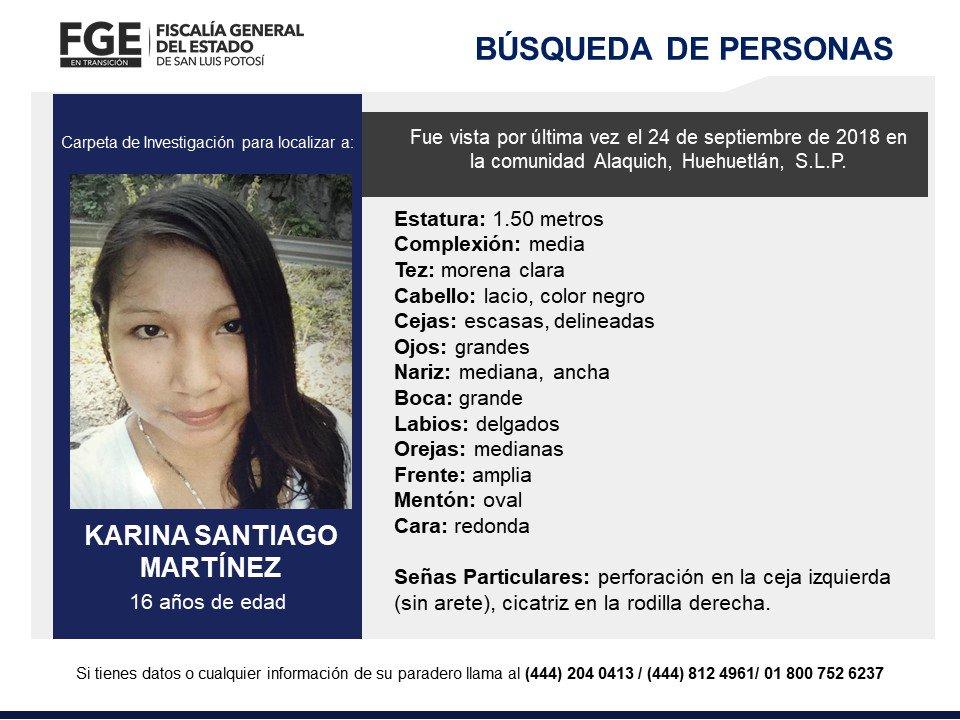 Reportan desaparición de dos mujeres en la Huasteca