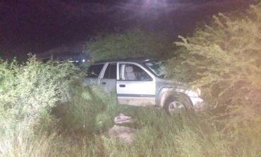Localizan en Pozos camioneta con reporte de robo