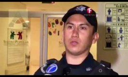 """Oficial: """"Rescate"""" de Mya, montaje escénico de la Policía Federal"""