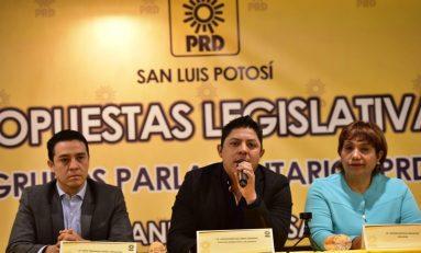 PRD pide reducción del 50 por ciento a salarios en Congreso del Estado