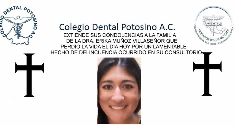 Clima social de indignación por dentista asesinada