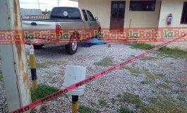 En presunto intento de asalto, asesinan a hombre en Moctezuma