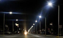 Alistan sustitución de lámparas de sodio por led en Soledad