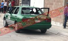 Ejecutan a pasajero en taxi en Villas del Sol