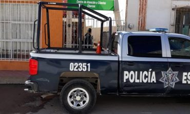 Ladrones se pelan con medio millón en robo a oficinas de la CFE