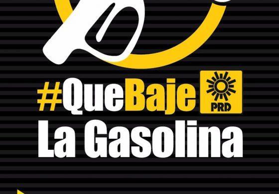 PRD inicia campaña de firmas para rebajar precio de las gasolinas