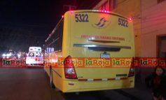 Choque entre camiones en Eje Vial