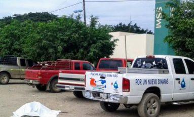De varios balazos dan muerte a integrante del organismo operador de agua potable en El Naranjo