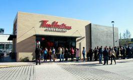 Saltillences hace fila desde temprano por la apertura de Tim Hortons