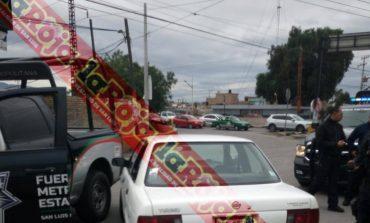 Persecución en Periférico termina con la recuperación de un vehículo con reporte de robo