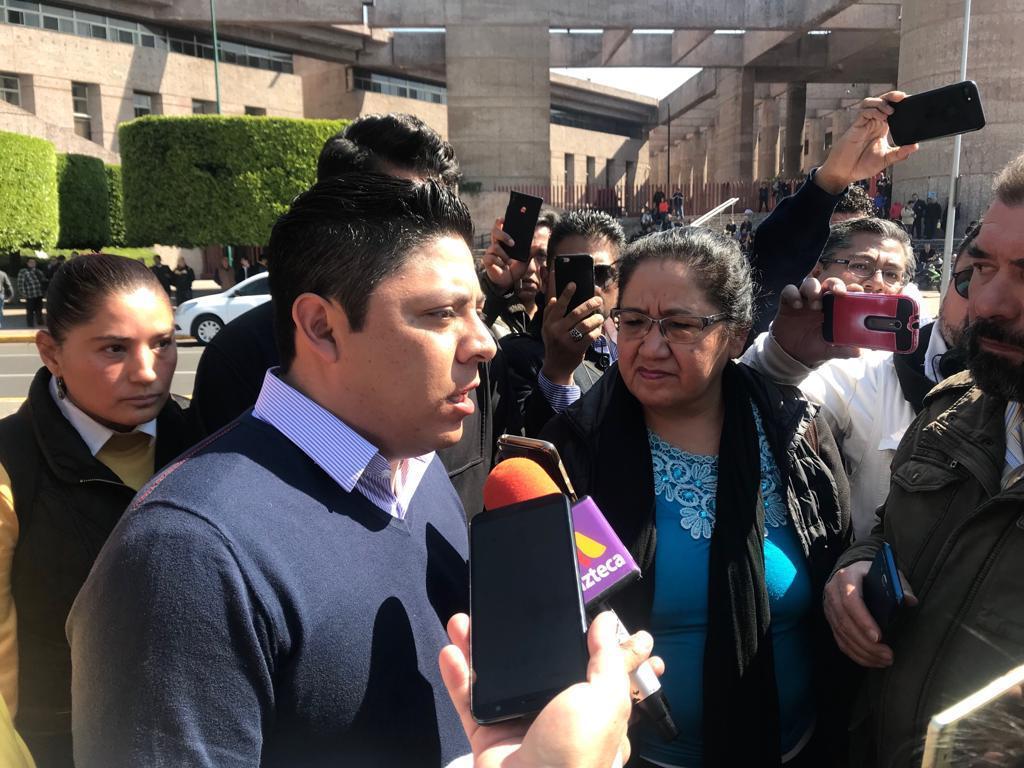 Gallardo pide a diputados locales voto a favor de la Reforma Educativa
