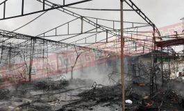 Incendio acaba en su totalidad con la Expo Moroleón