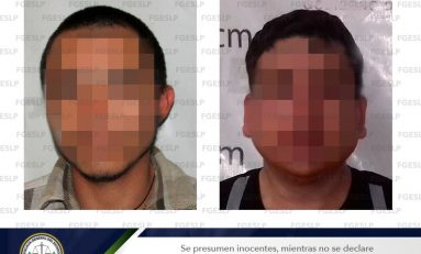 Detienen  a dos implicados en homicidio en Valles