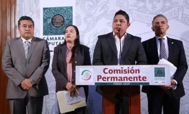 Bancada del PRD pide análisis y discusión para el Plan Nacional de Desarrollo 2018-2024