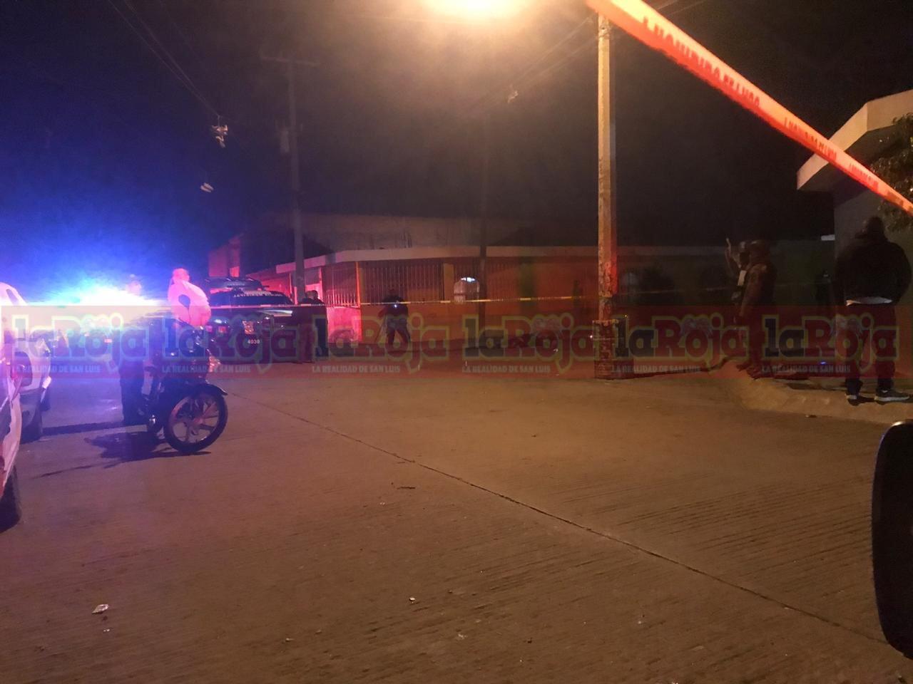 Noche violenta en la capital potosina; ataque armado deja dos muertos en la Rural Atlas