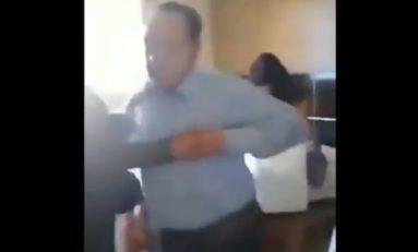 Familia de alcalde panista lo encuentra en un motel con prostituta y lo exhiben