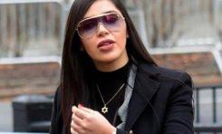 """Emma Coronel le manda un beso a """"El Chapo"""" al escuchar su sentencia"""
