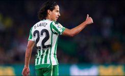 Lainez debuta con gol en Europa