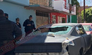 """""""Los demonios"""" causan destrozos en un taller de hojalatería y pintura ubicado en la colonia Satélite"""