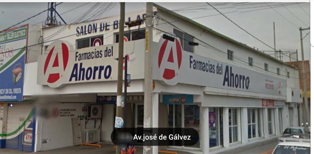 ENÉSIMO ASALTO EN LA FARMACIA DEL AHORRO EN JOSÉ DE GÁLVEZ.