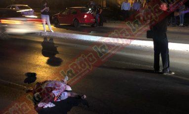 Hombre muere atropellado en Carretera a Matehuala a la altura de la Constancia