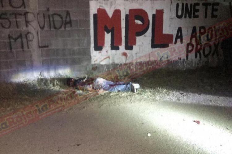 Dejan moribundo a presunto delincuente en Camino a Cerro de San Pedro