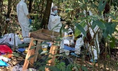 Localizan en Veracruz fosa clandestina con al menos 15 restos de humanos