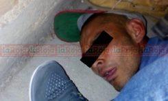 Cayó raterillo en manos de la justicia ciudadana, el cual siempre dejaba escapar la policía municipal San Luis