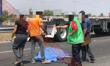 Hombre muere arrollado en la Carretera 57