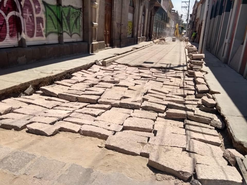 El comercio del Centro Histórico en declive por incumplimiento en la entrega del proyecto remodelación de la calle Guerrero