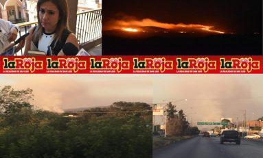 Por los incendios 9 mil hectáreas  y la Secretaría de Ecología dice que no pasa nada